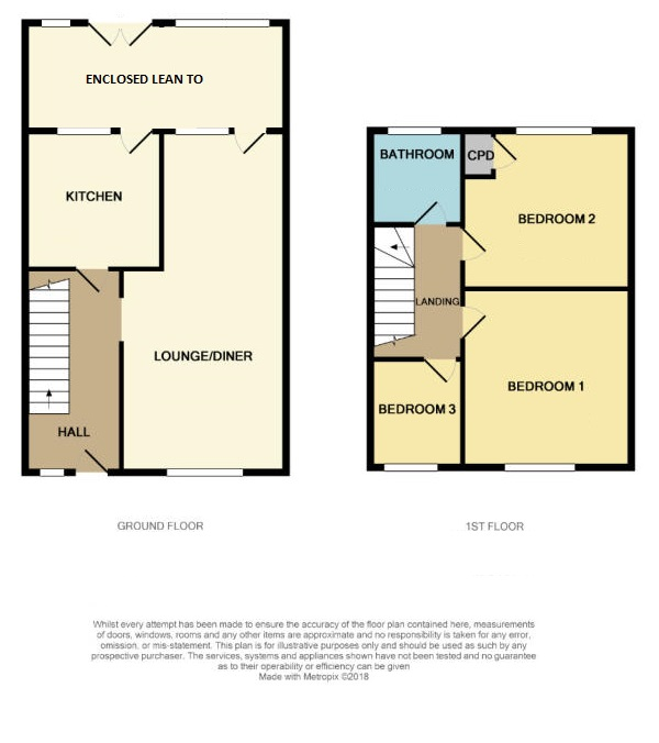 Floorplan of St Peters Close, West Meads, Bognor Regis, West Sussex, PO21 5QA